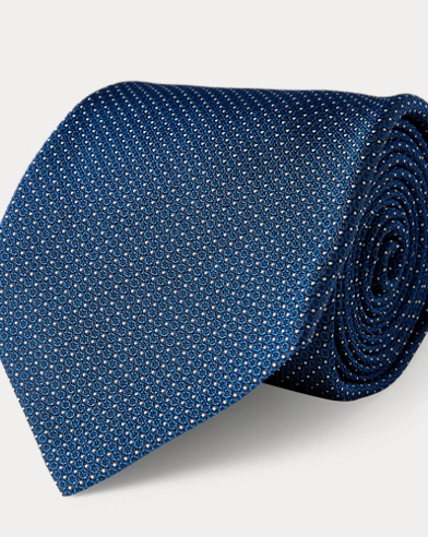 Patterned Silk Jacquard Tie