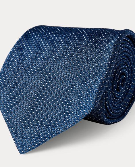 Patterned Silk Jacquard Tie