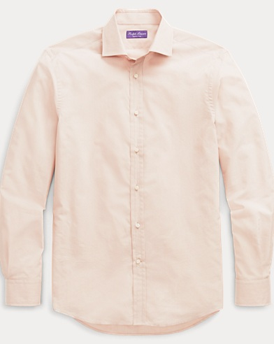 Cotton-Silk Dress Shirt