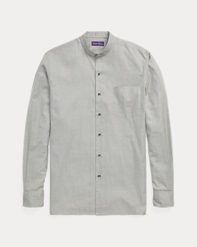 Houndstooth Twill Shirt