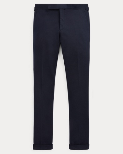 Cotton-Blend-Interlock Trouser