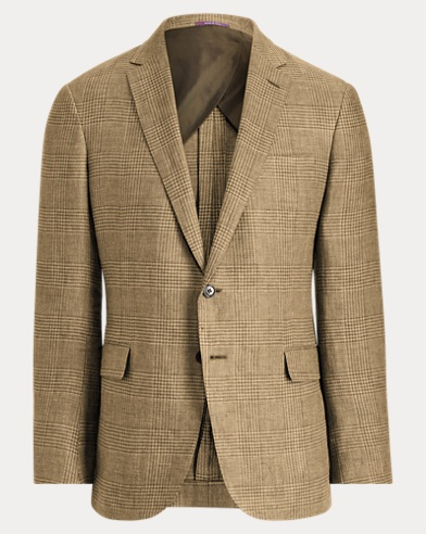 Nigel Plaid Linen Sport Coat