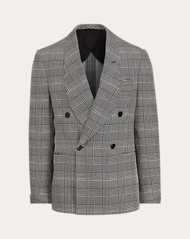 Handmade Plaid Dinner Jacket