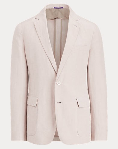 Slub Linen-Silk Suit Jacket