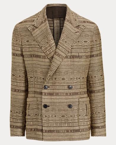 Linen Jacquard Sport Coat