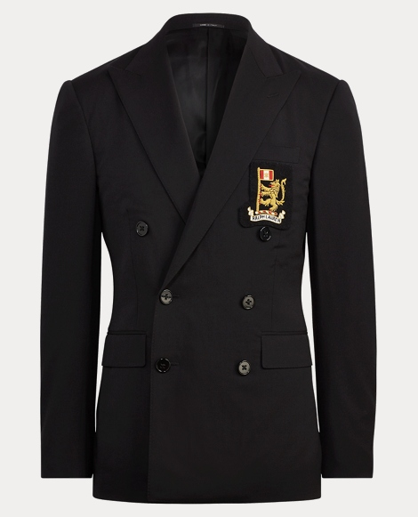 Wool Serge Suit Jacket
