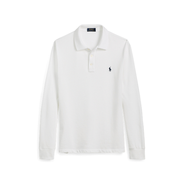 Cotton Long Sleeve Polo Shirt by Ralph Lauren