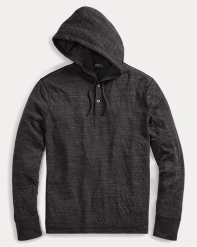 Cotton-Blend Jersey Hoodie