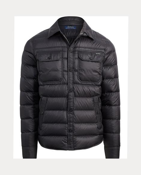 Taffeta Down Shirt Jacket