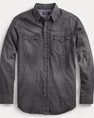 Classic Fit Chambray Shirt
