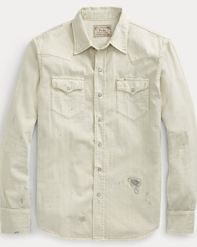 Classic Fit Denim Shirt