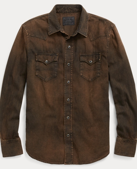 Standard Fit Denim Shirt