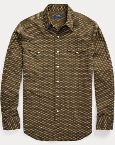 Classic Fit Star Twill Shirt