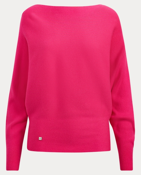Stretch Cotton Dolman Sweater