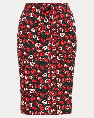 Floral Georgette Skirt