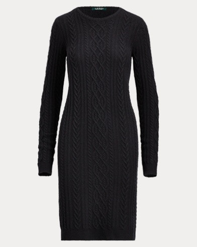 Wool-Cashmere Sweater Dress