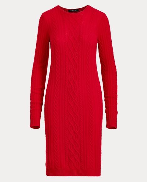 Wool-Cashmere Sweater Dress