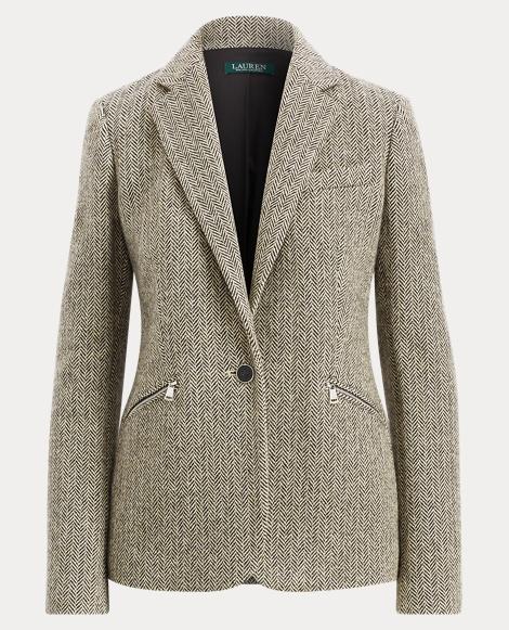 women 39 s blazers down vests in wool silk suede. Black Bedroom Furniture Sets. Home Design Ideas
