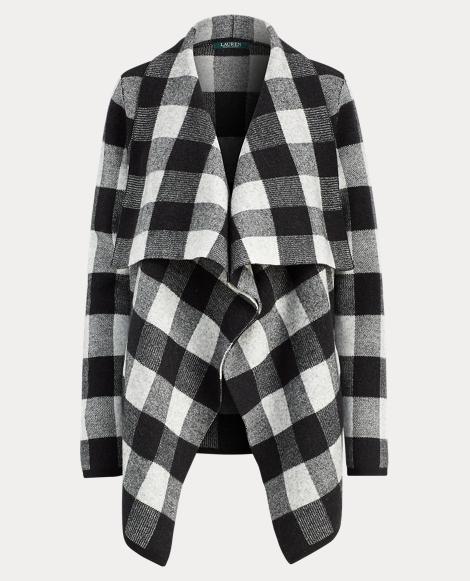 Buffalo Plaid Merino Jacket
