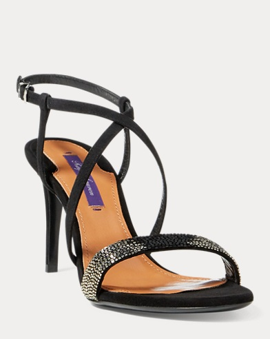 Arissa Beaded Suede Sandal