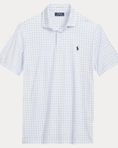 Plaid Soft-Touch Polo Shirt