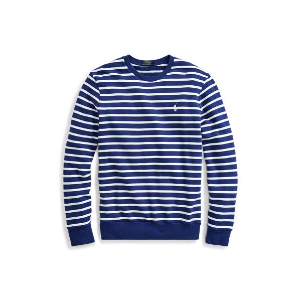 Ralph Lauren Cotton French Terry Sweatshirt Fall Royal/ White Xs