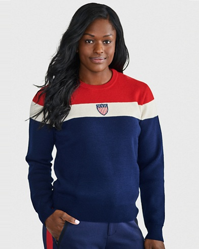 Team USA Ceremony Wool Sweater