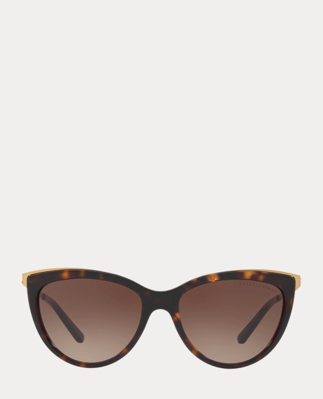 RL Hinge Cat-Eye Sunglasses