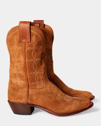 Plainview Suede Cowboy Boot