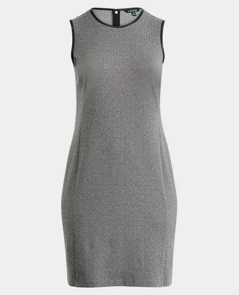Herringbone Sleeveless Dress
