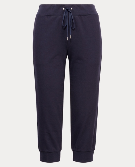 Cropped Cotton Sweatpant