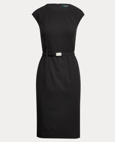 Buckled Sleeveless Dress