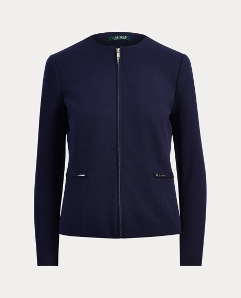 Stretch Twill Full-Zip Jacket