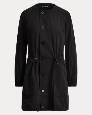 Drawcord Taffeta Jacket