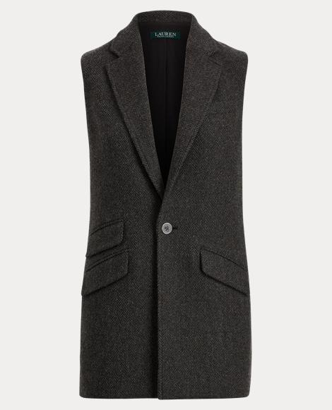 Merino Tweed Vest