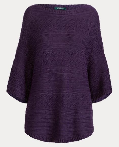 Metallic Short-Sleeve Sweater