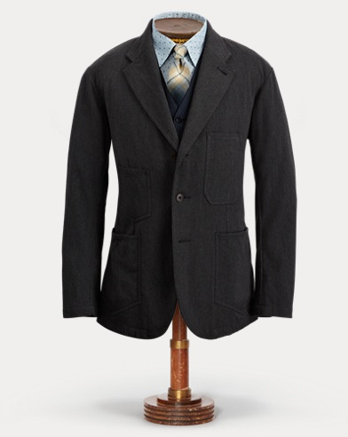 Stretch-Wool Blend Sport Coat