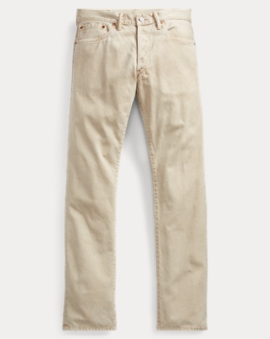 Low Straight Corduroy Pant