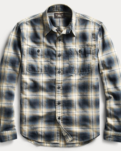 Plaid Cotton Workshirt