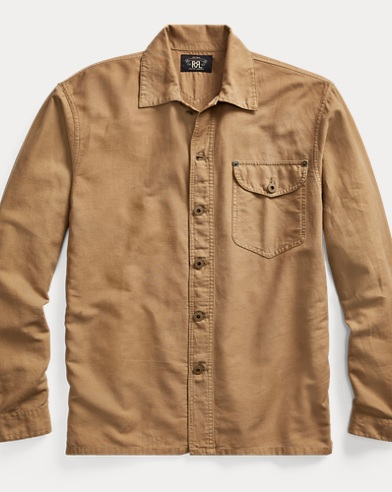 Cotton-Linen Workshirt