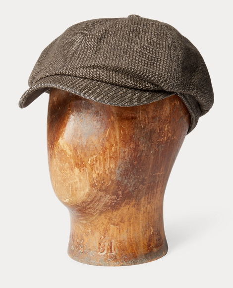 Cotton Dobby Newsboy Cap
