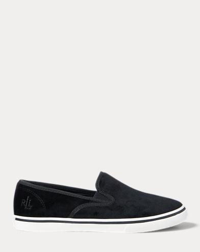 Janis Velvet Slip-On Sneaker