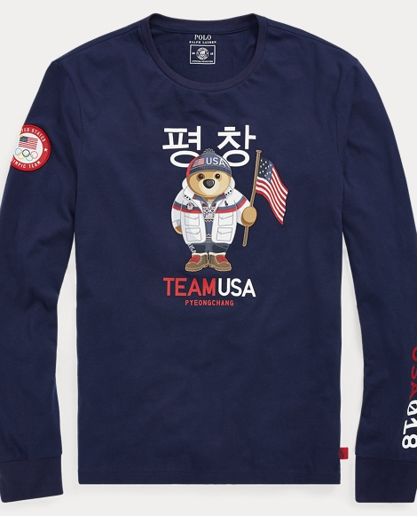 Team USA Polo Bear T-Shirt