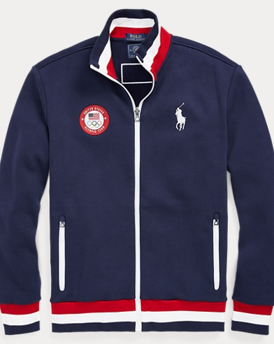 Team USA Fleece Track Jacket