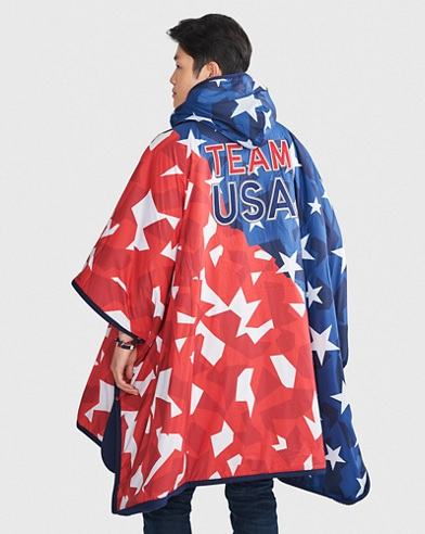 Team USA Ripstop Hooded Poncho
