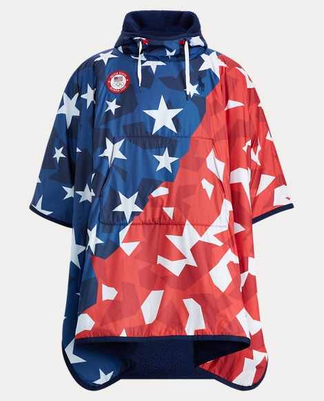 Team USA Ripstop Hooded Poncho