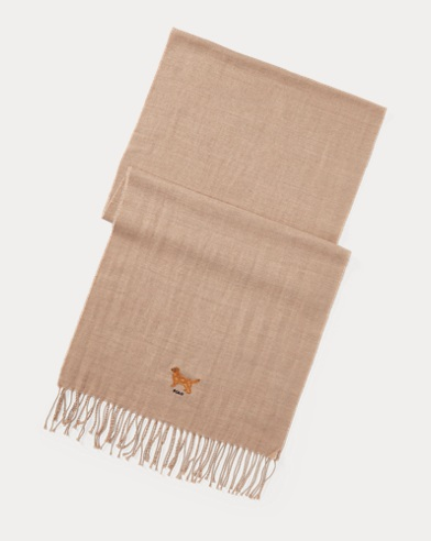Dog Wool-Cotton Scarf