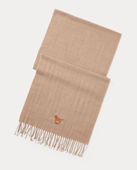 Dog Wool-Cotton Scarf