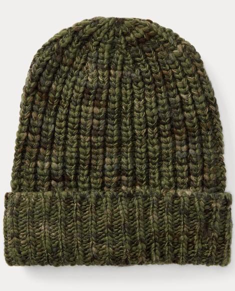 Wool-Blend Rag Hat