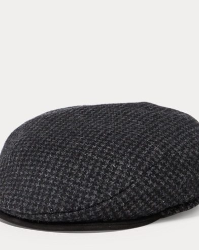Houndstooth Driver's Cap